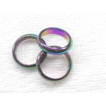 Ring / Rainbow Hemetite / 50 in bag