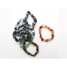 Bracelet / Ass. Tumbled Stones