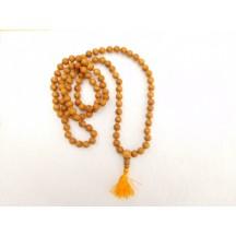 Mala / Sandalwood (108 bead knotted)
