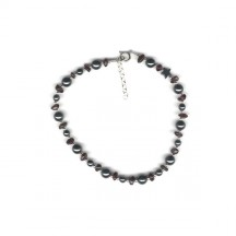 Power Anklet / Sterling Silver