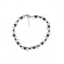 Spirituality Anklet / Sterling Silver