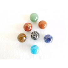 Spheres (Mini  22mm) (Bag of 22 Assorted stones)