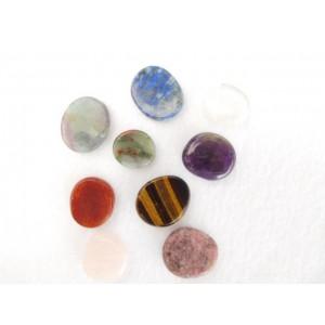 Smooth / Flat Stones small / (4 oz bag ) / Ass. stones