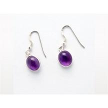 Earring /  Ass. Gemstones / sterling silver