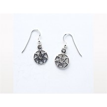 Earring / Fairy Star / sterling silver