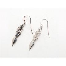 Earring / Goddess Moon / sterling silver