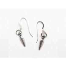 Earring / Goddess / sterling silver