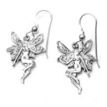 Earring / Fairy / sterling silver