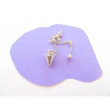 Pendulum / Metal Cone / chain not silver