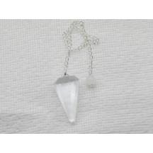 Pendulum / Selinite / chain not silver