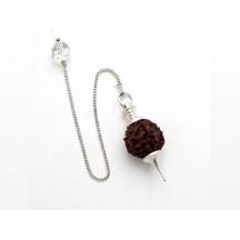 Pendulum / Rudraksha Bead / chain not silver