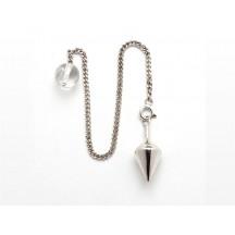 Pendulum / Sterling Silver / chain silver