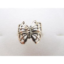 Ring / Butterfly / sterling silver
