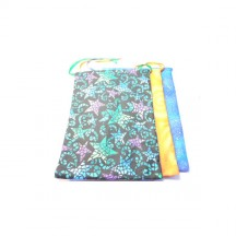 Pouch Large / Assorted Fabric
