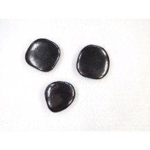 Shungite smooth stone