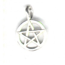 Pentagram Charm (Small) Sterling Silver
